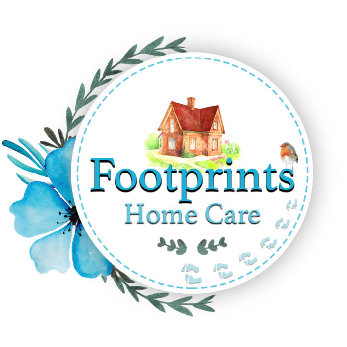 Footprints Home Care Logo