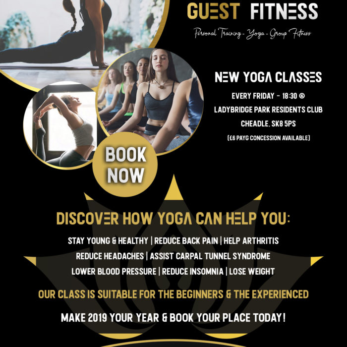 Guest Fitness Flyer