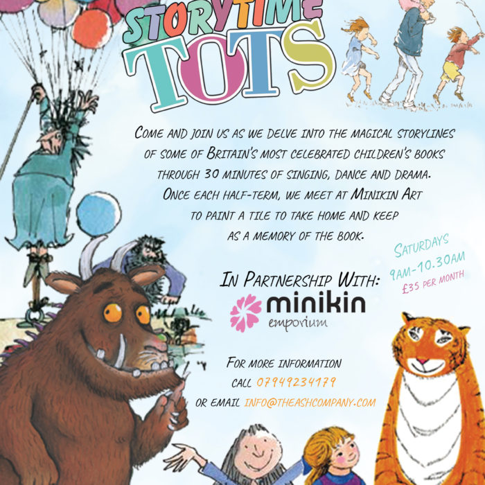 Storytime Tots flyer