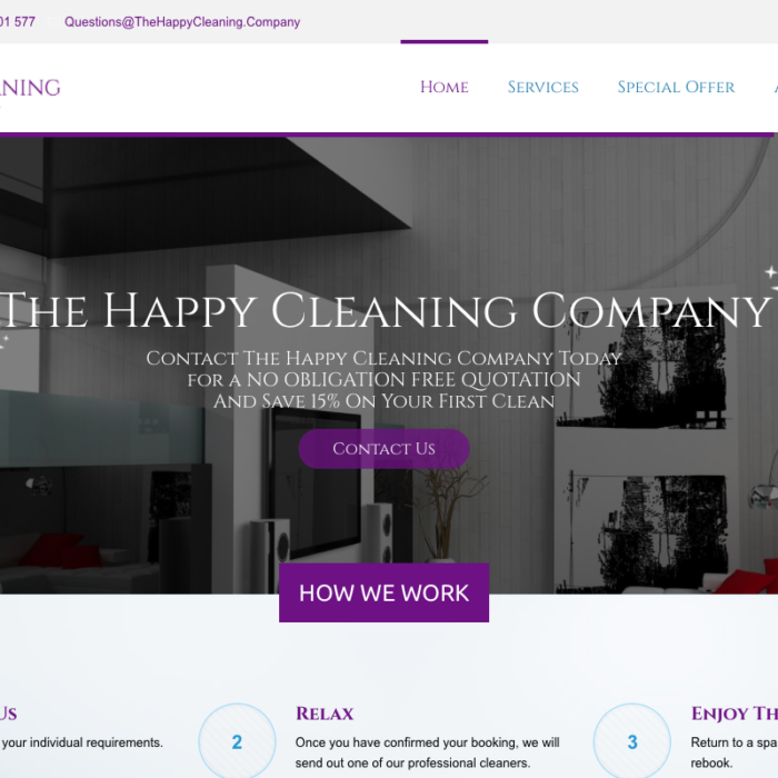 The Happy Cleaning Company
